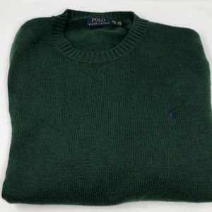 Hunter Green Men's Polo Ralph Lauren sweater XXL